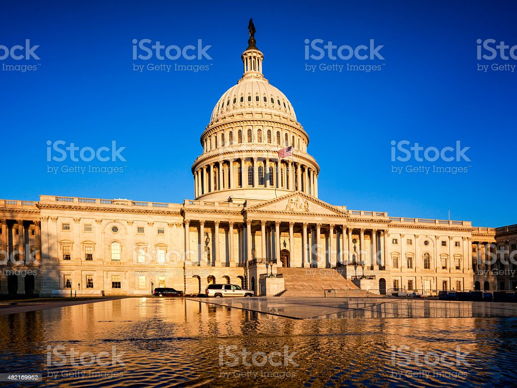 the Capitol, DC stock photo