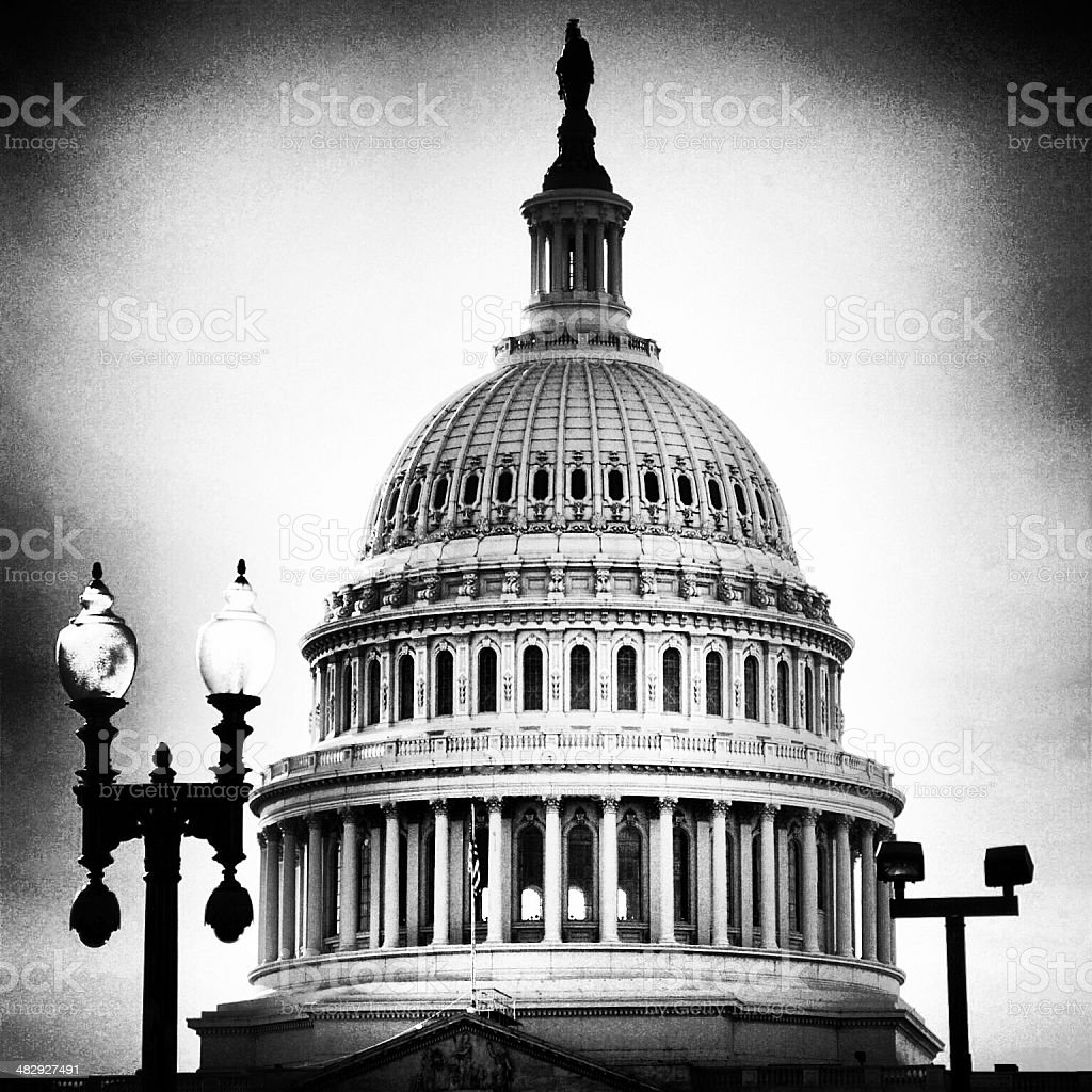 The Capitol Dome stock photo