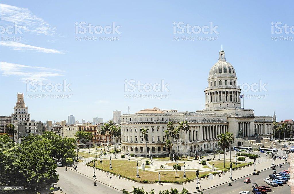 The Capitol in Havana, Cuba stock photo