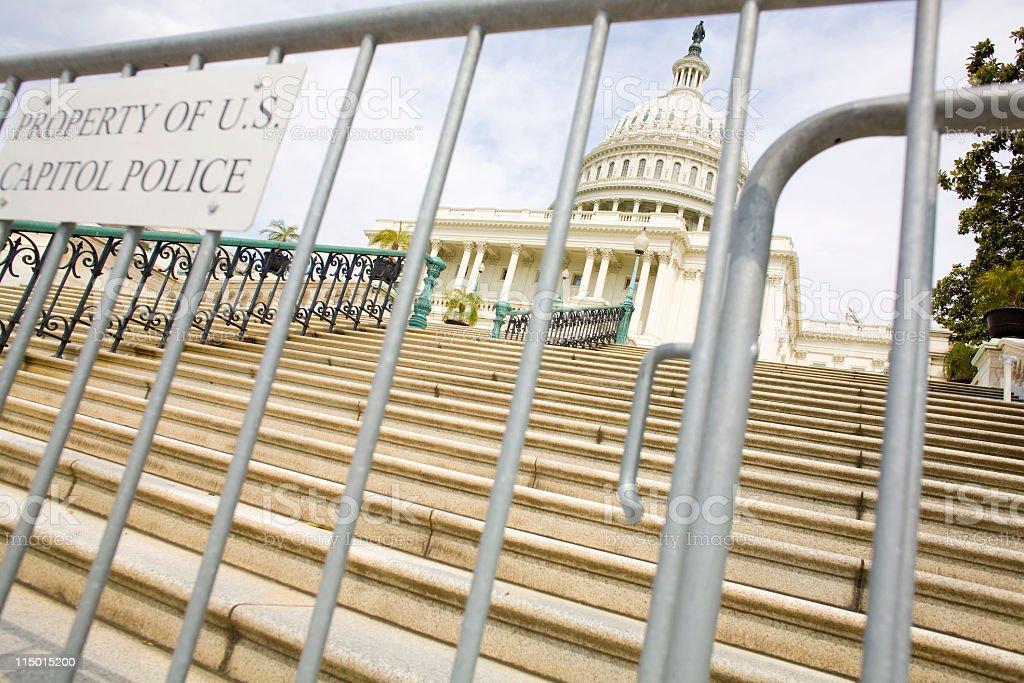 The Capitol In Washington DC stock photo