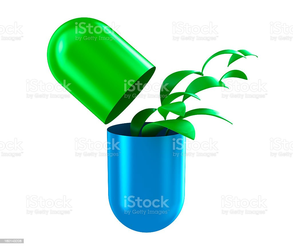 The capsule royalty-free stock photo