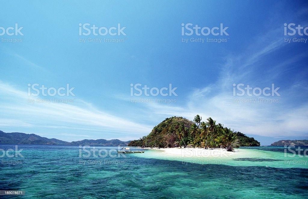 The captivating island of El Nido in Palawan, Philippines royalty-free stock photo