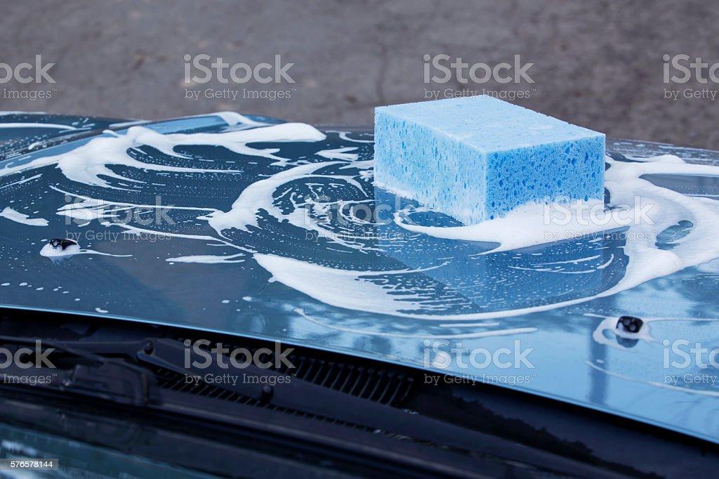 the car wash stock photo