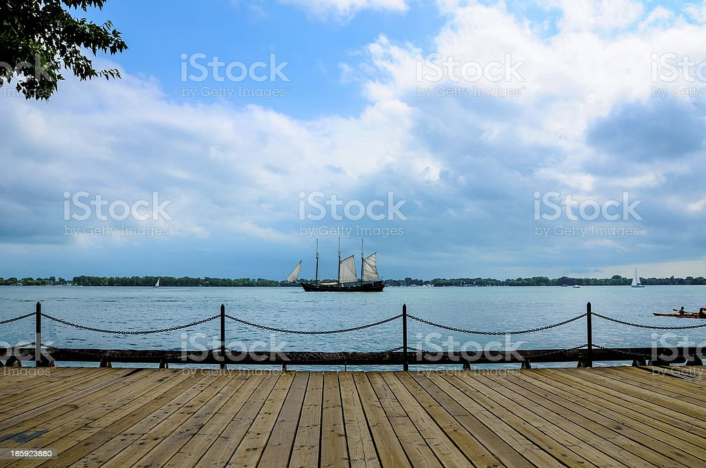 the caravel stock photo