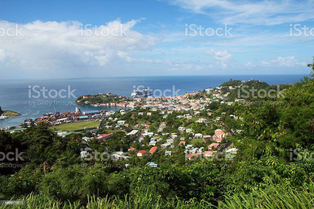 The Caribs. Aruba. stock photo