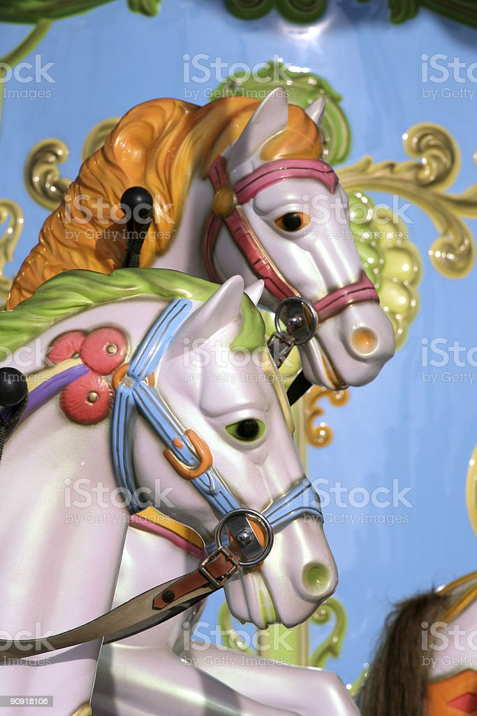 The Carousel view two royalty-free stock photo