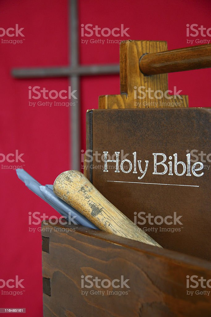 The Carpenters Tools stock photo