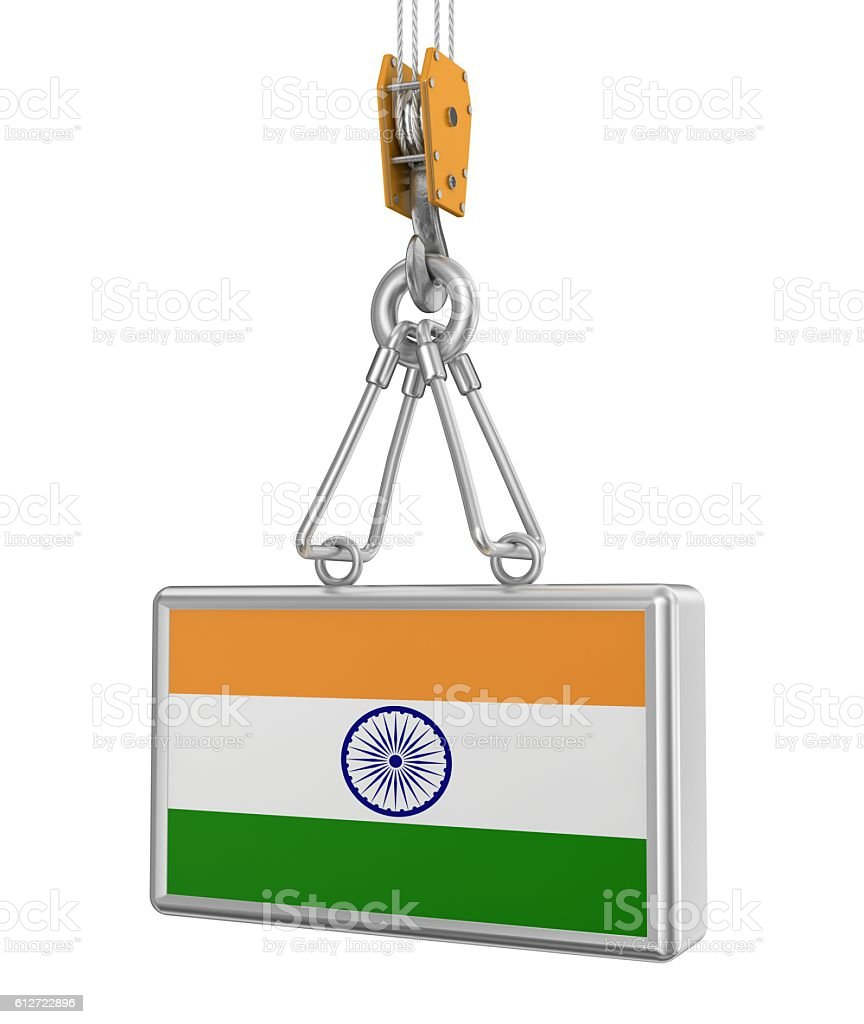 The Carrying of by India stock photo