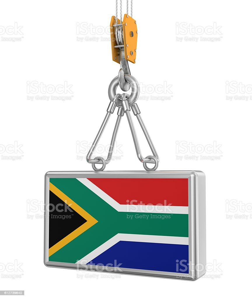 The Carrying of by South Africa stock photo