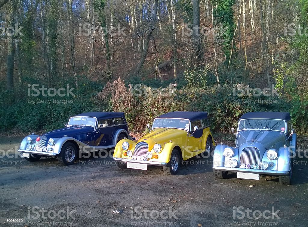 The Cars of Coch stock photo