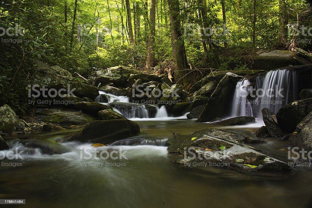 The Cascades royalty-free stock photo