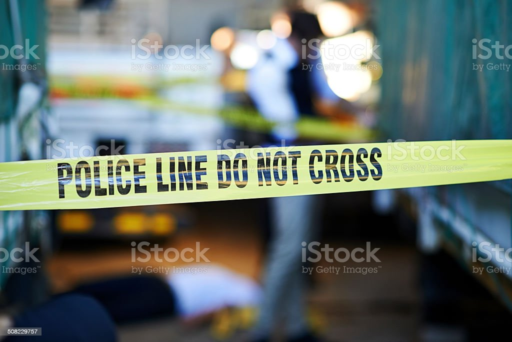 The case just got serious stock photo