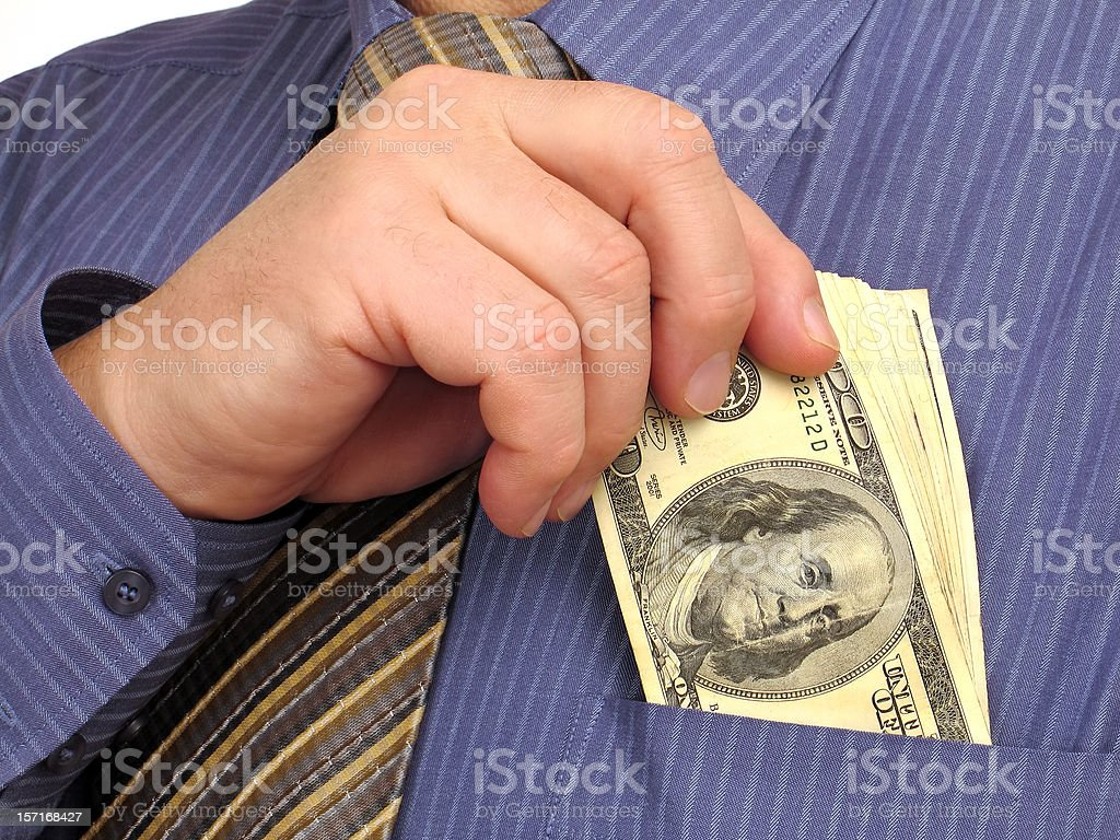 The Cash stock photo