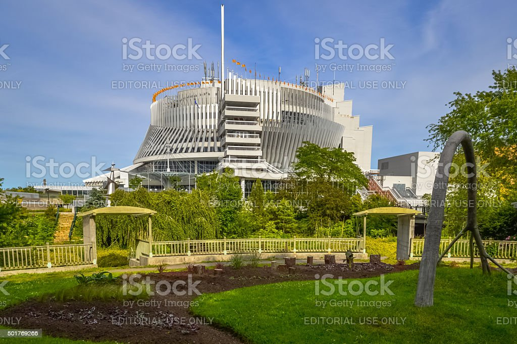The Casino de Montreal stock photo