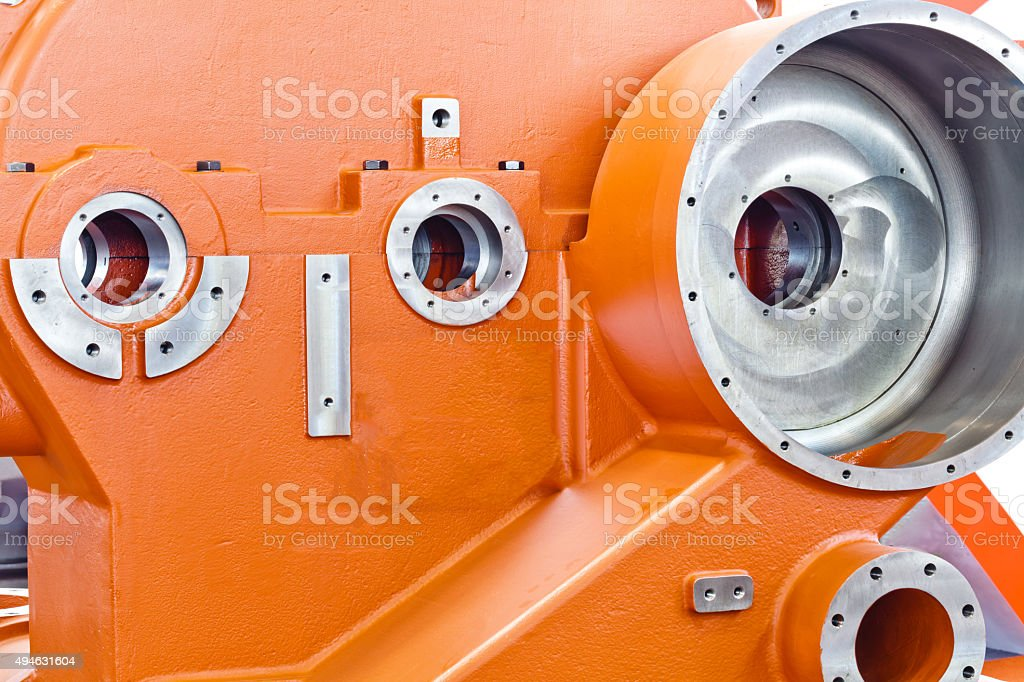 die casting mold stock photo