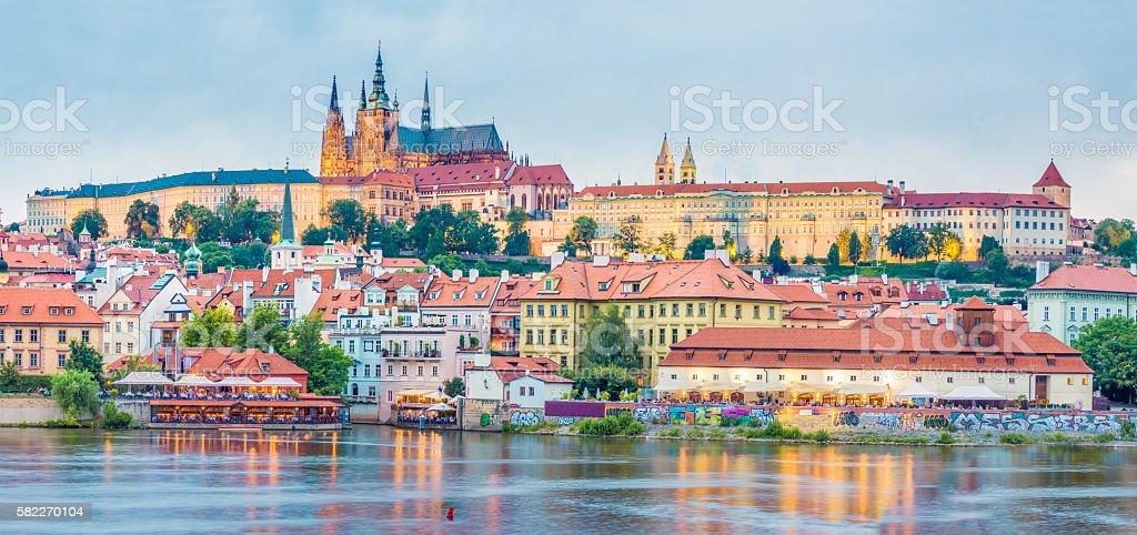 The Castle of Prague stock photo