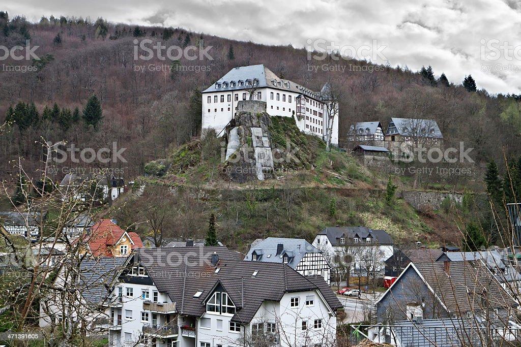 The castle was Bilstein stock photo