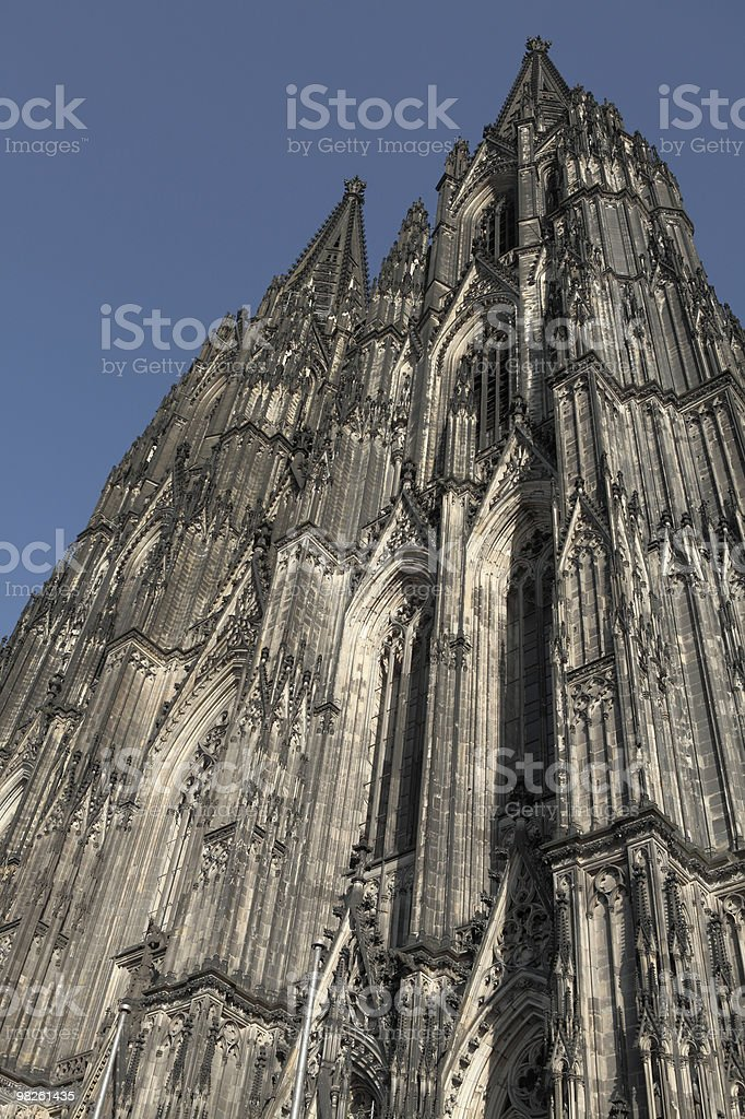 The cathedral of Cologne stock photo