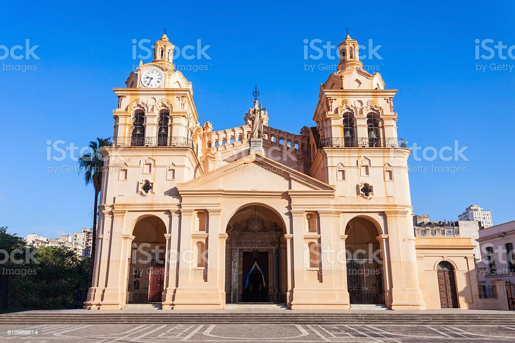 The Cathedral of Cordoba stock photo