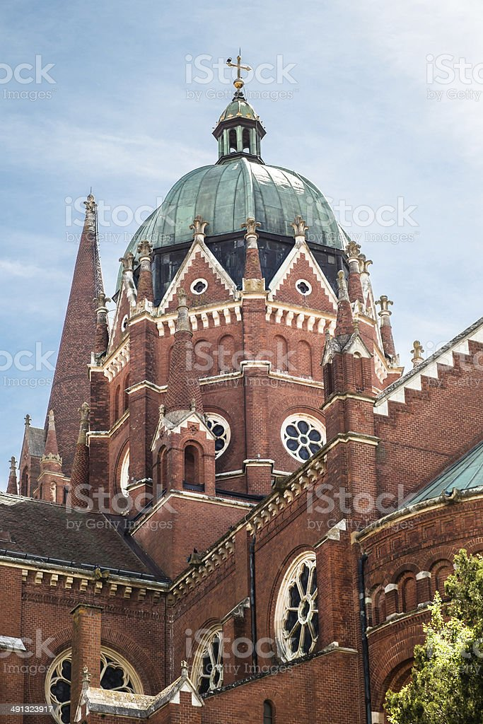 The Cathedral of St. Peter - Croatia stock photo
