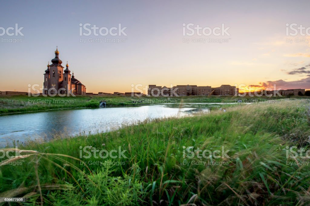 The Cathedral of the Transfiguration stock photo
