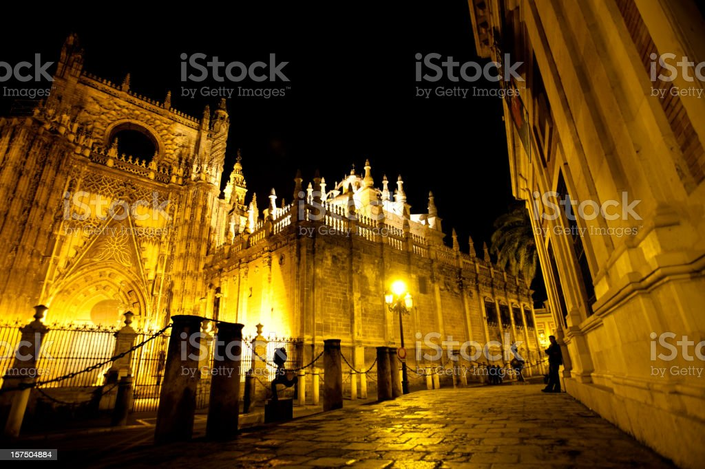 The Cathedral, Sevilla Spain royalty-free stock photo