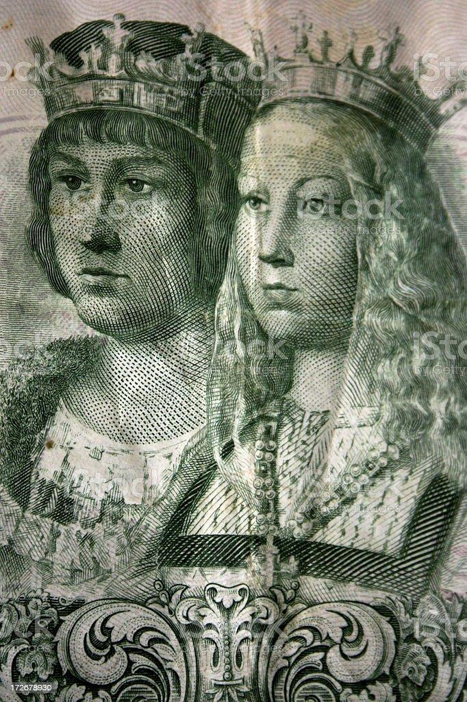 the catholic kings royalty-free stock photo