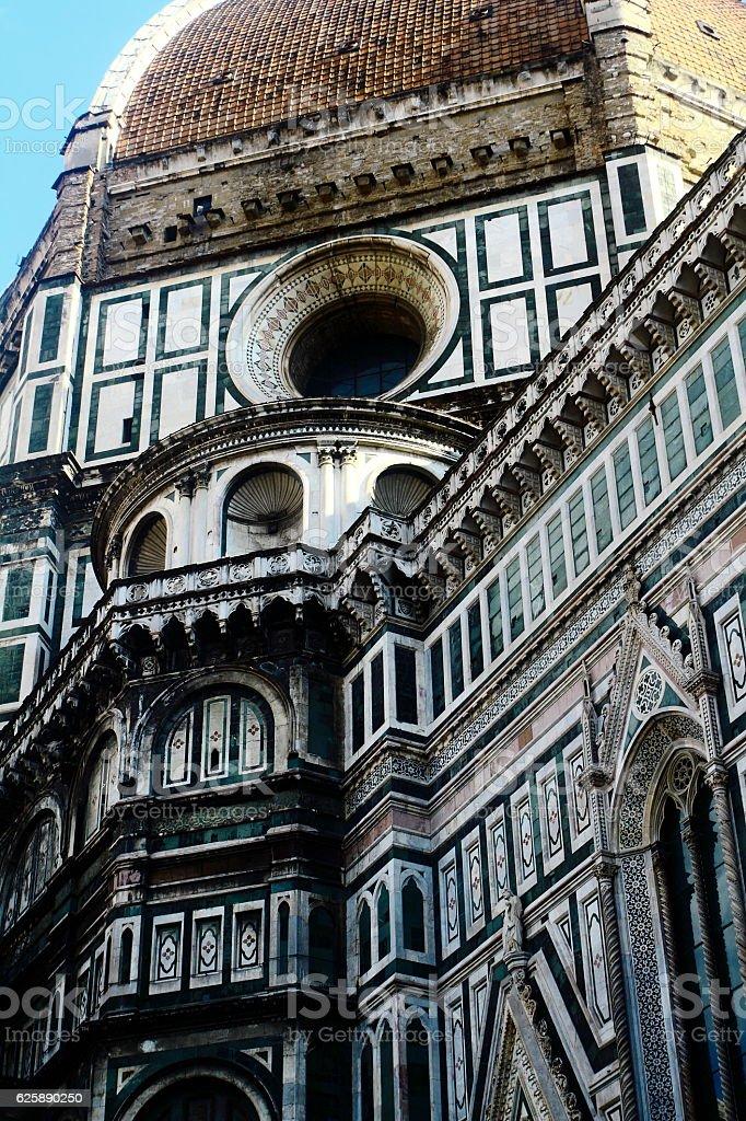 The Cattedrale di Santa Maria del Fiore stock photo
