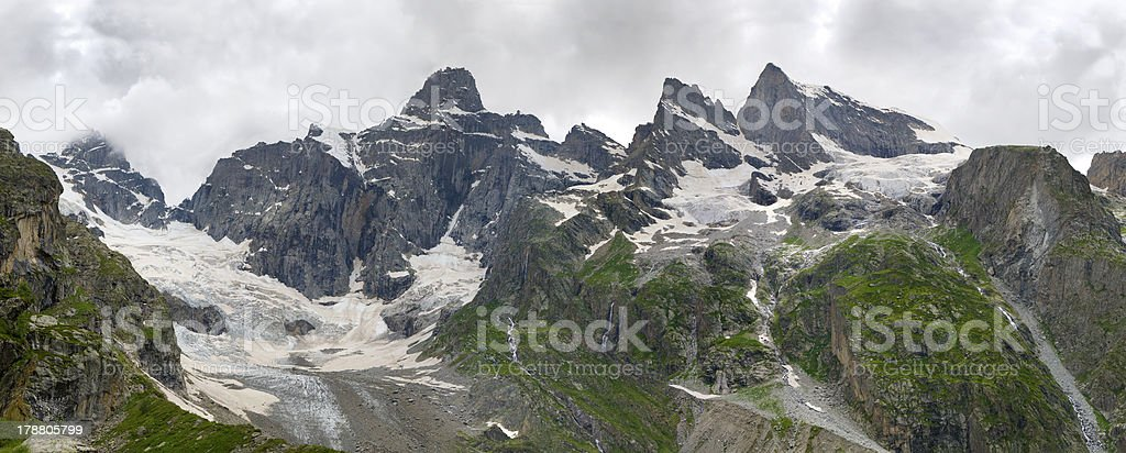 the Caucasus,Dalar royalty-free stock photo