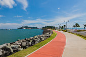 The Causeway in Panama City.