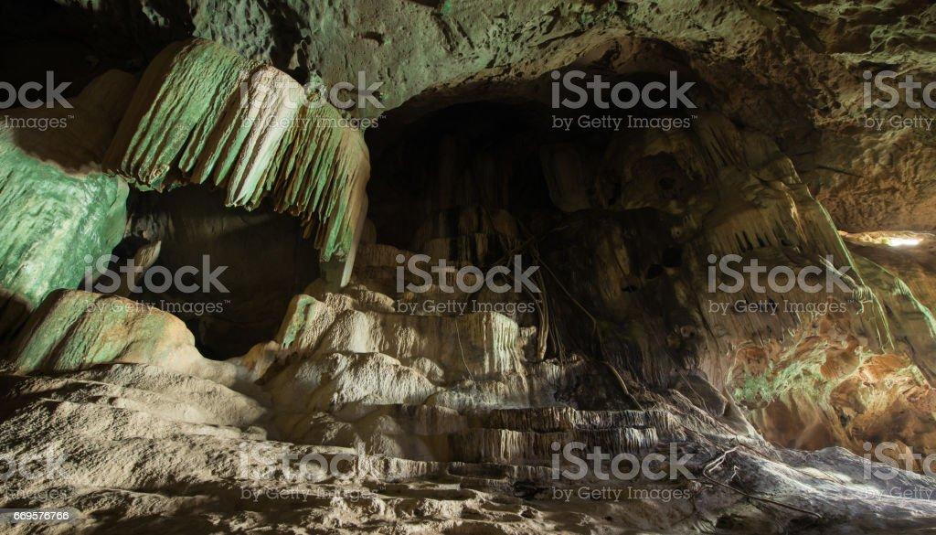The cave, Phang-Nga, Thailand stock photo