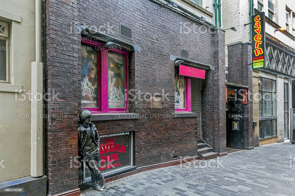 The Cavern, Liverpool stock photo