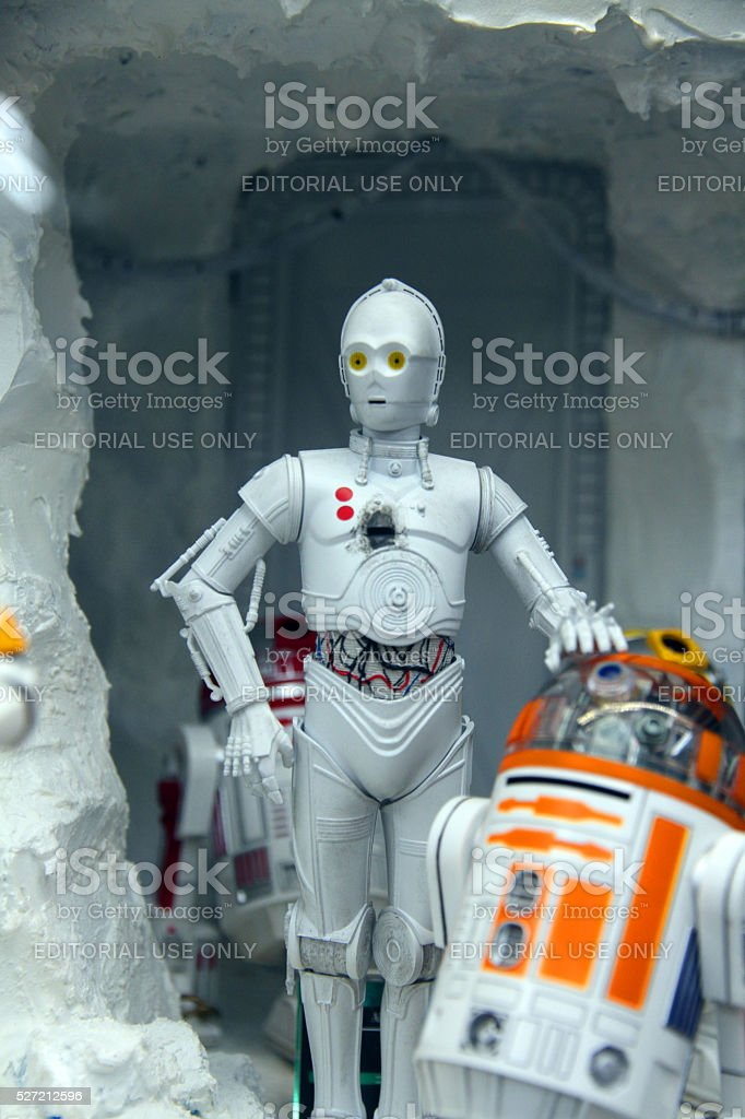 The Caves of Hoth stock photo