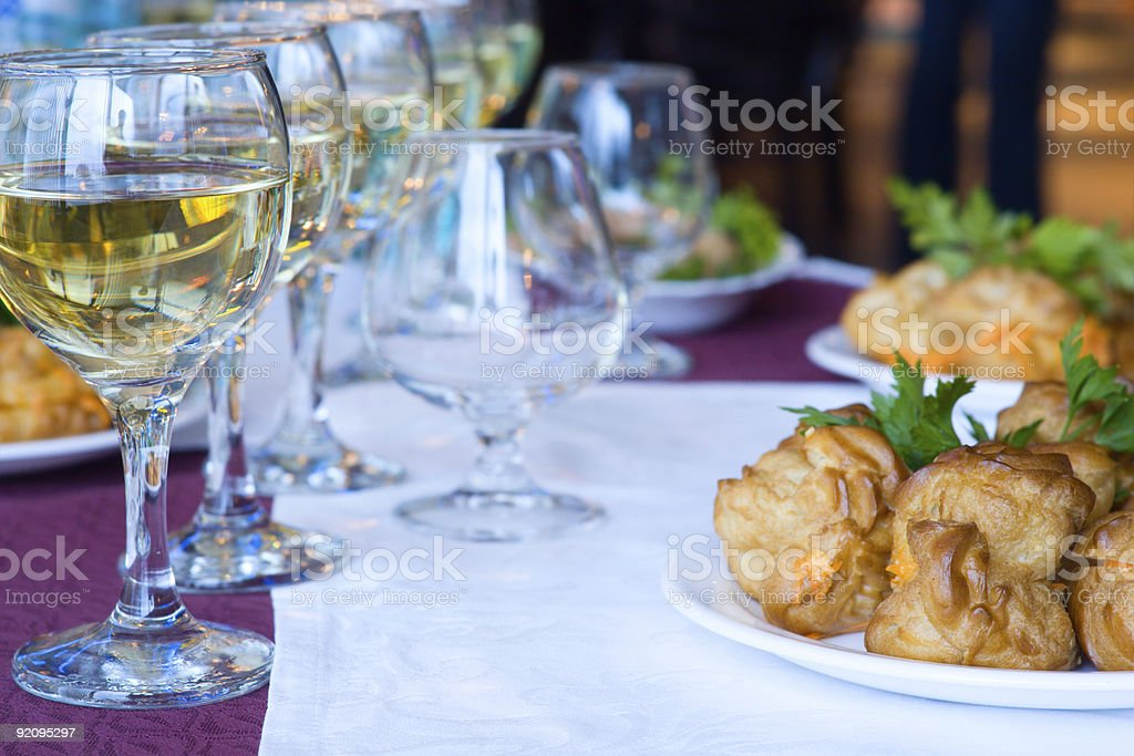 The cellebration is going to begin royalty-free stock photo