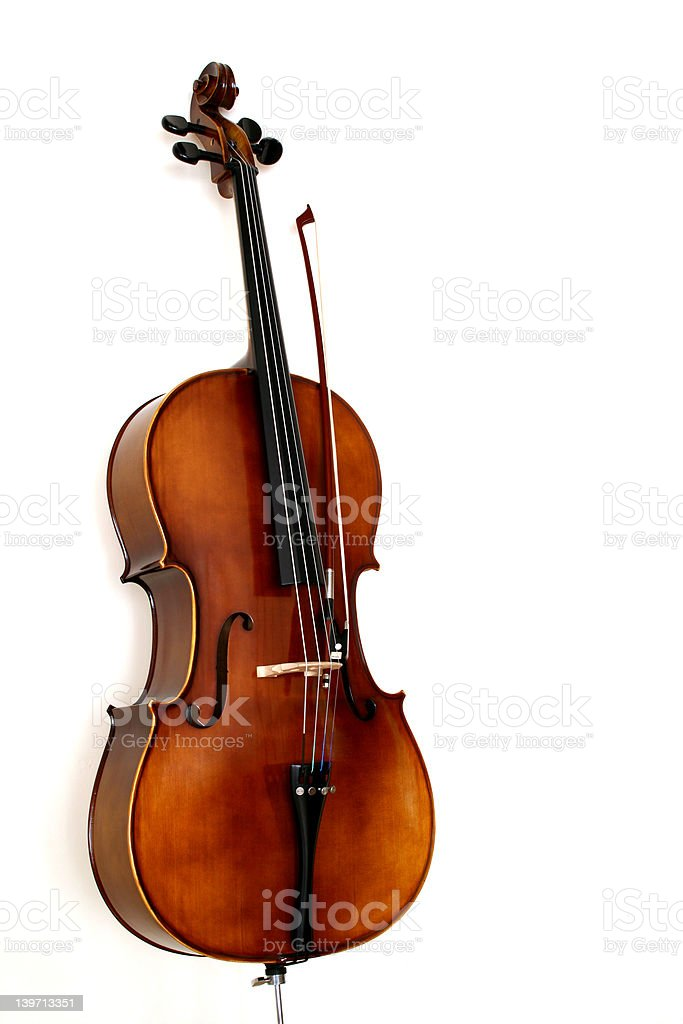The Cello royalty-free stock photo