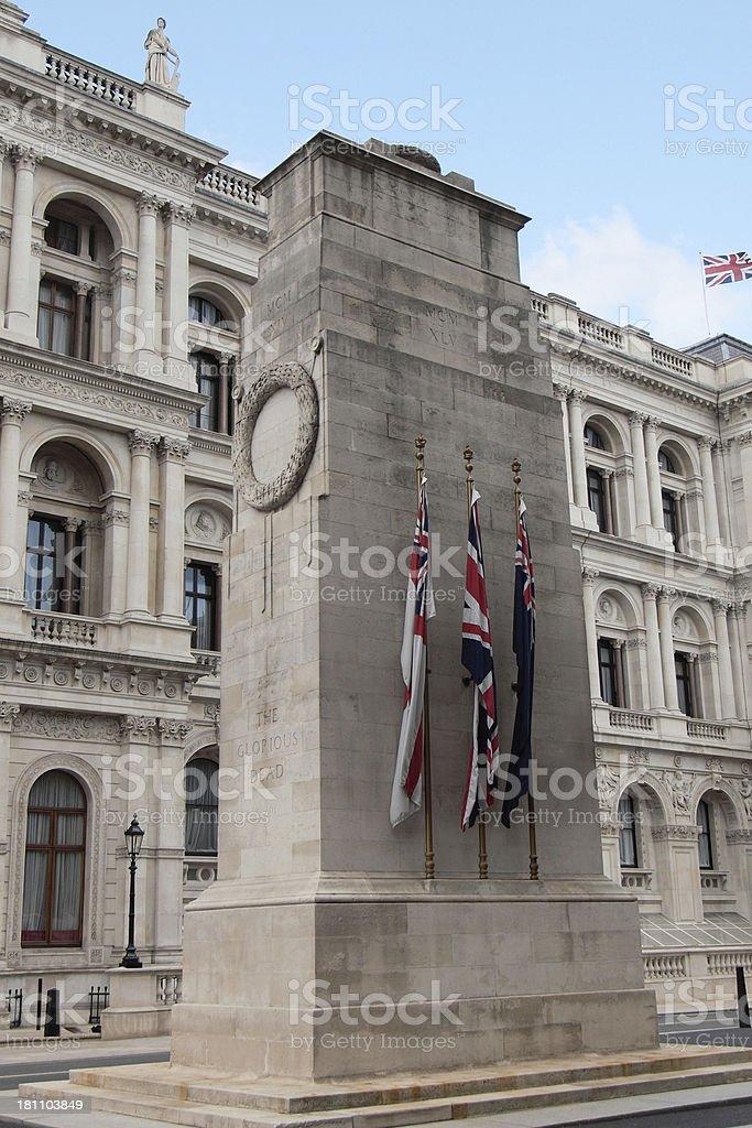 The Cenotaph London royalty-free stock photo