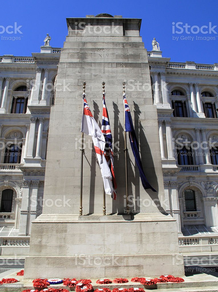 The Cenotaph royalty-free stock photo