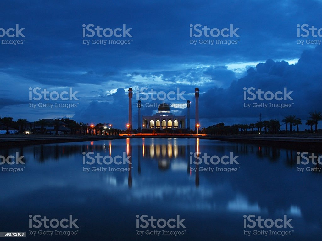 The Central Mosque of Songkhla (Central Masjid of Songkhla) stock photo