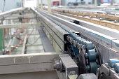 the chain drive shaft Line Conveyor Industrial