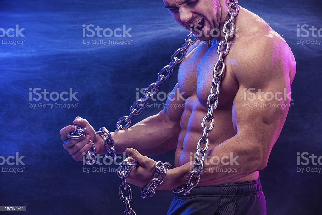 The Chains That Bind royalty-free stock photo