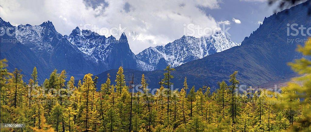 The Challenger Peak royalty-free stock photo