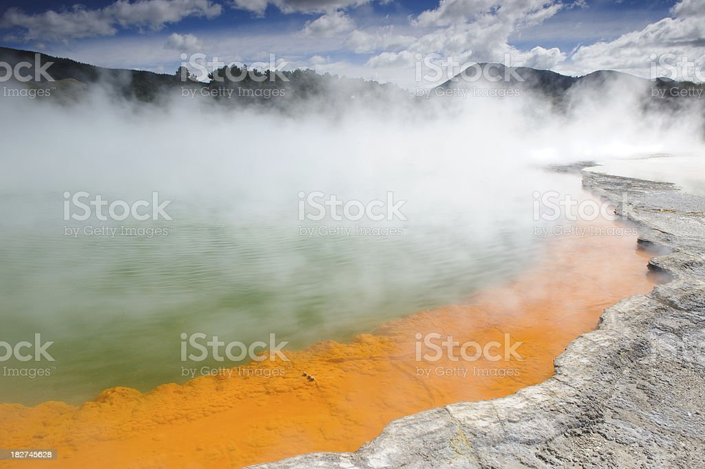 The Champagne Pool stock photo