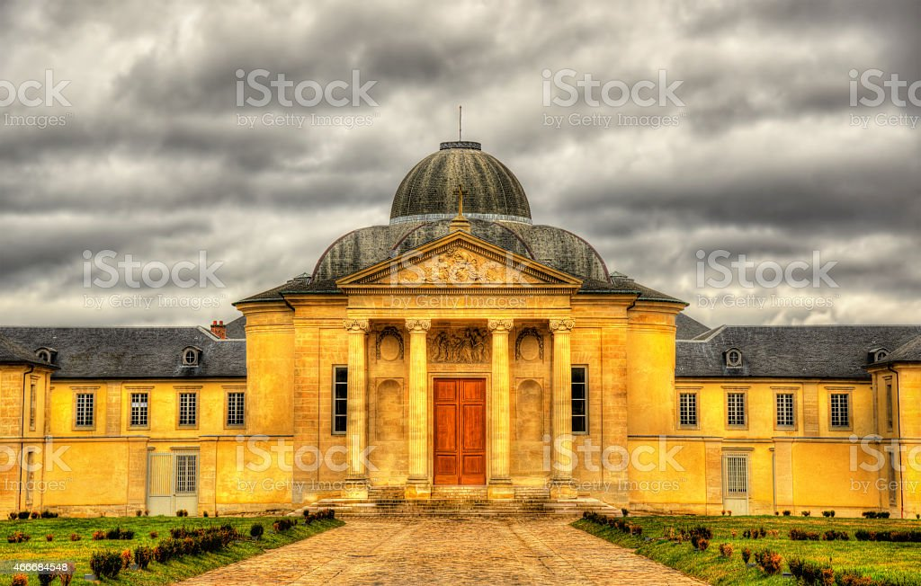 The chapel of the lycee Hoche in Versailles stock photo