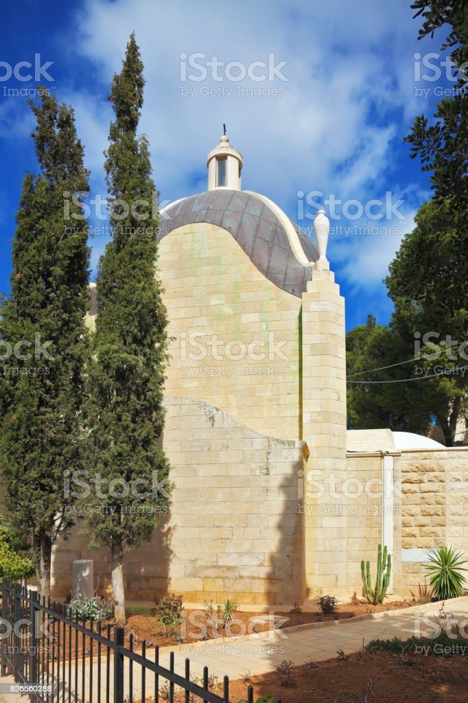 The chapel stock photo