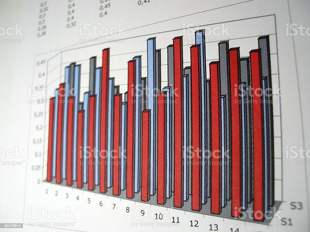 The Chart royalty-free stock photo