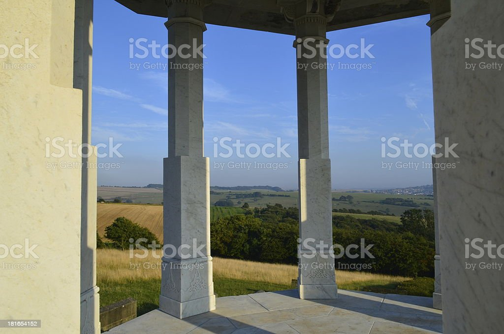 The Chattri Memorial Brighton royalty-free stock photo