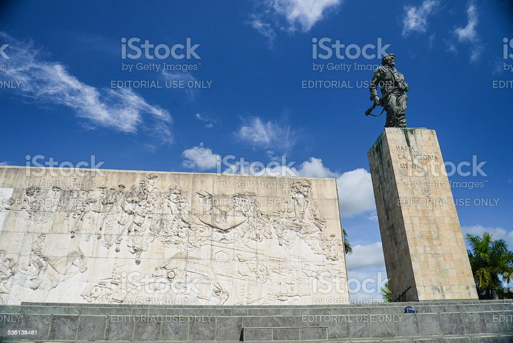 The Che Guevara Mausoleum in Santa Clara stock photo