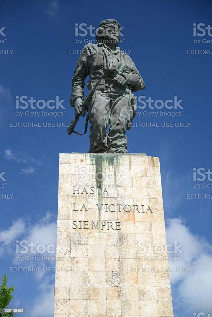 The Che Guevara Mausoleum in Santa Clara stock photo