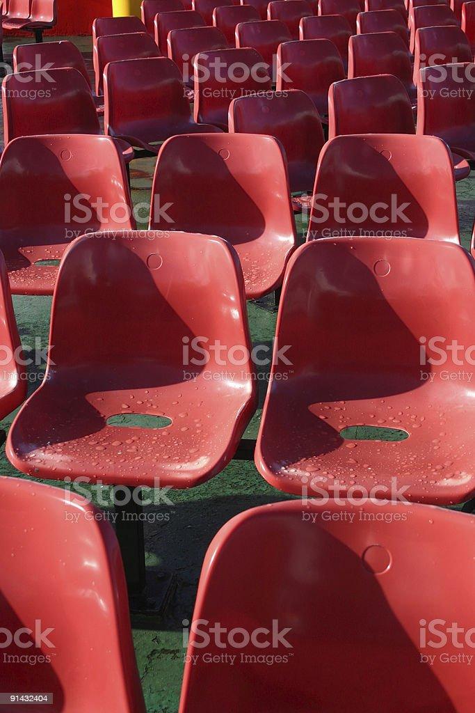 The Cheap Seats royalty-free stock photo