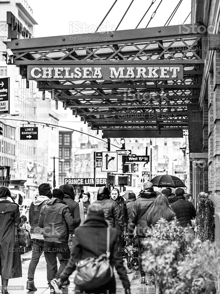 The Chelsea Market stock photo
